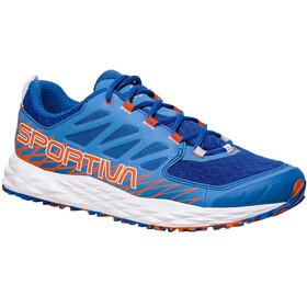 La Sportiva W's Lycan Shoes Marine Blue/Lily Orange